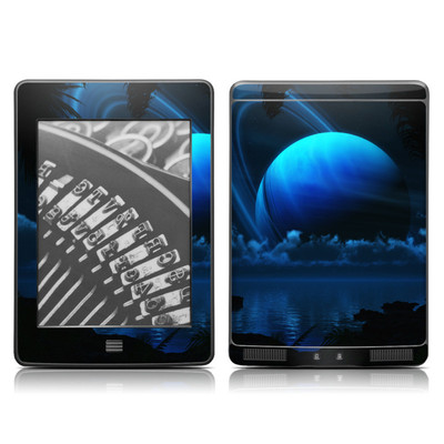 Kindle Touch Skin - Tropical Moon
