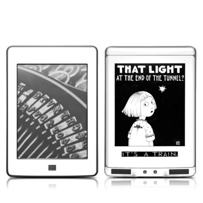Kindle Touch Skin - Train Tunnel