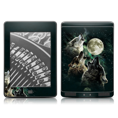 Kindle Touch Skin - Three Wolf Moon