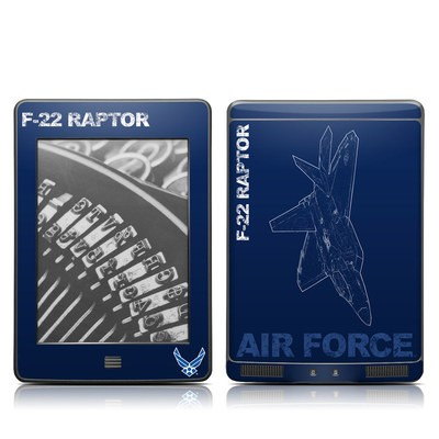 Kindle Touch Skin - F-22 Raptor
