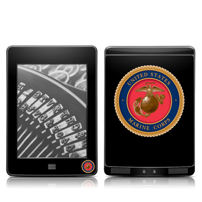 Kindle Touch Skin - USMC Black