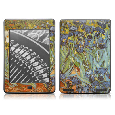 Kindle Touch Skin - Irises