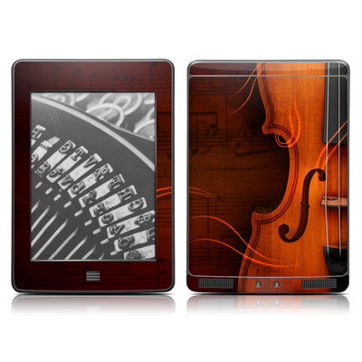 Kindle Touch Skin - Violin