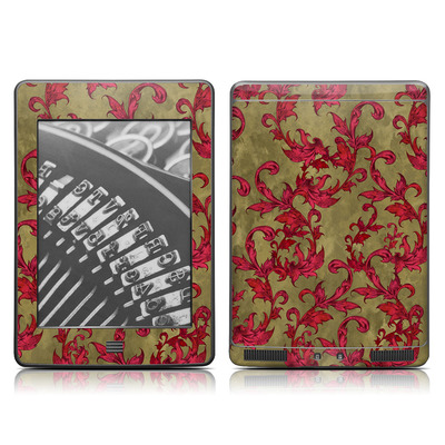 Kindle Touch Skin - Vintage Scarlet