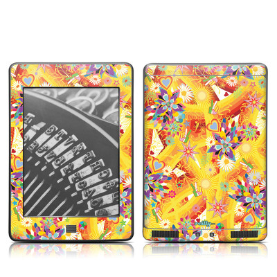 Kindle Touch Skin - Wall Flower