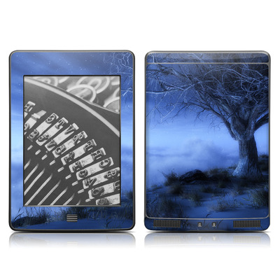 Kindle Touch Skin - World's Edge Winter