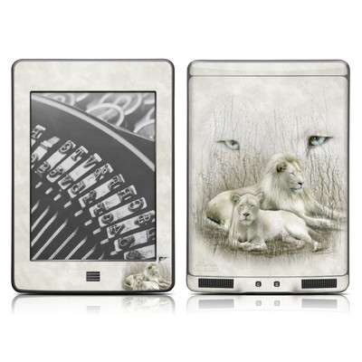 Kindle Touch Skin - White Lion