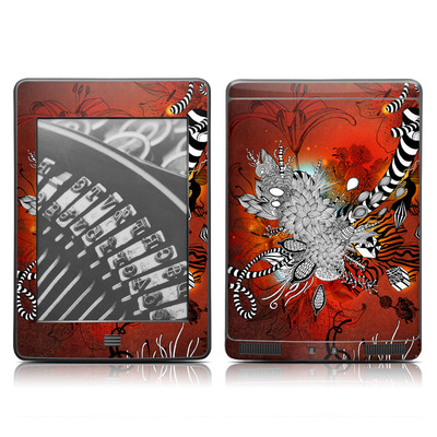 Kindle Touch Skin - Wild Lilly