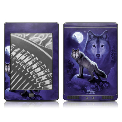 Kindle Touch Skin - Wolf