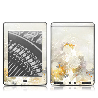 Kindle Touch Skin - White Velvet