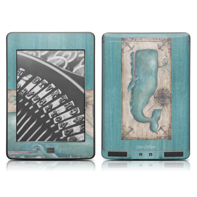 Kindle Touch Skin - Whale Watch