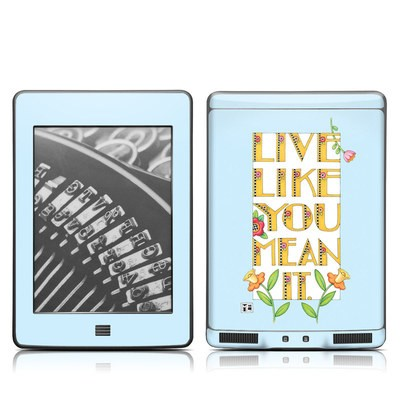 Kindle Touch Skin - Mean It