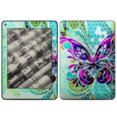 Amazon Kindle Voyage Skin - Butterfly Glass