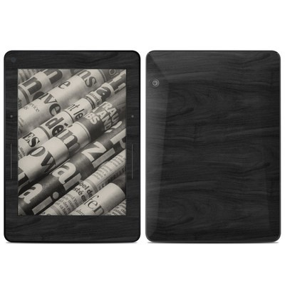 Amazon Kindle Voyage Skin - Black Woodgrain