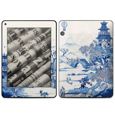 Amazon Kindle Voyage Skin - Blue Willow