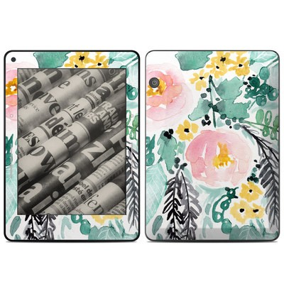 Amazon Kindle Voyage Skin - Blushed Flowers