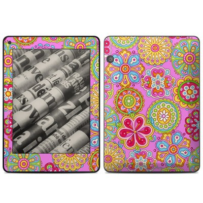Amazon Kindle Voyage Skin - Bright Flowers
