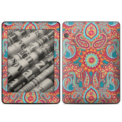 Amazon Kindle Voyage Skin - Carnival Paisley