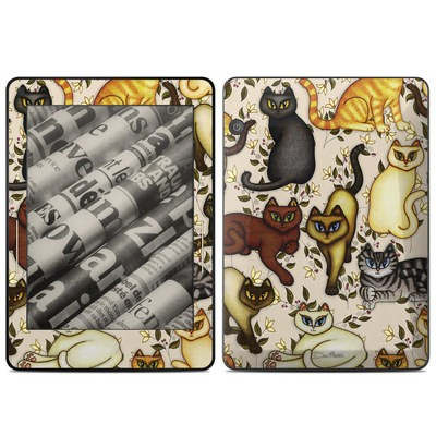 Amazon Kindle Voyage Skin - Cats