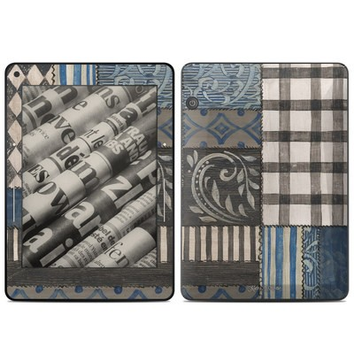Amazon Kindle Voyage Skin - Country Chic Blue