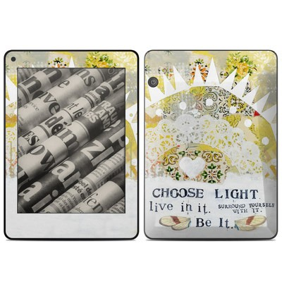 Amazon Kindle Voyage Skin - Choose Light