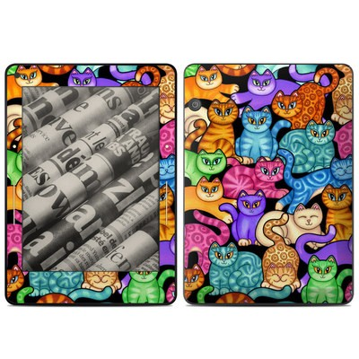 Amazon Kindle Voyage Skin - Colorful Kittens