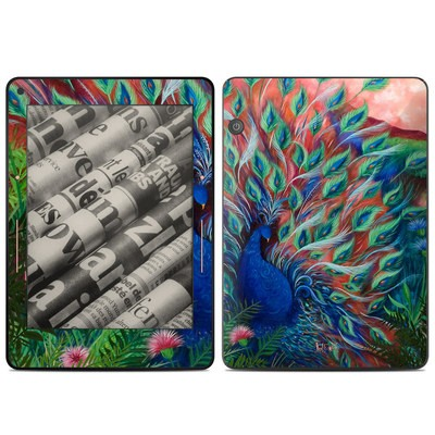 Amazon Kindle Voyage Skin - Coral Peacock