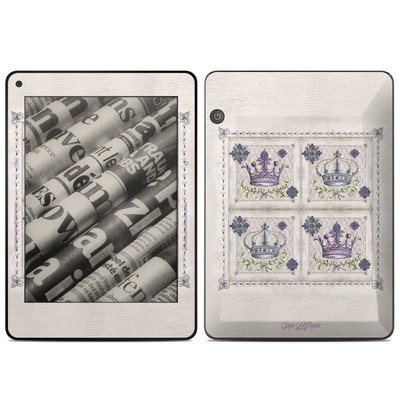 Amazon Kindle Voyage Skin - Purple Crown