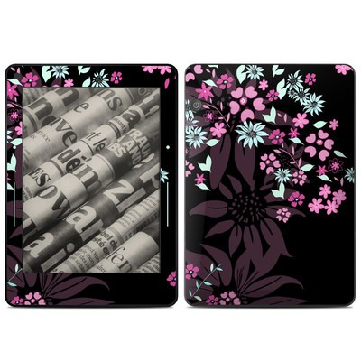 Amazon Kindle Voyage Skin - Dark Flowers
