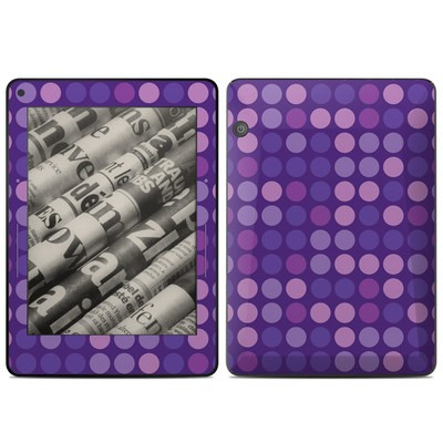 Amazon Kindle Voyage Skin - Big Dots Purple