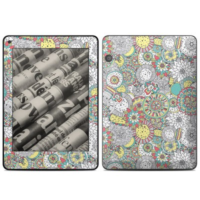 Amazon Kindle Voyage Skin - Faded Floral