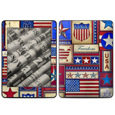 Amazon Kindle Voyage Skin - Flag Patchwork