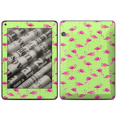 Amazon Kindle Voyage Skin - Flamingo Day