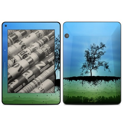Amazon Kindle Voyage Skin - Flying Tree Blue