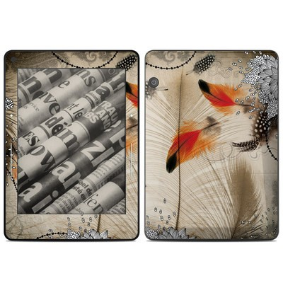 Amazon Kindle Voyage Skin - Feather Dance