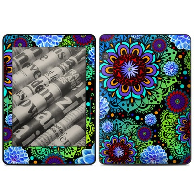 Amazon Kindle Voyage Skin - Funky Floratopia