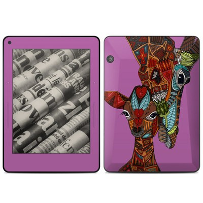 Amazon Kindle Voyage Skin - Giraffe Love