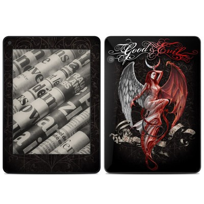 Amazon Kindle Voyage Skin - Good and Evil