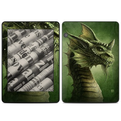 Amazon Kindle Voyage Skin - Green Dragon