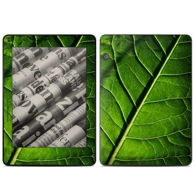 Amazon Kindle Voyage Skin - Green Leaf