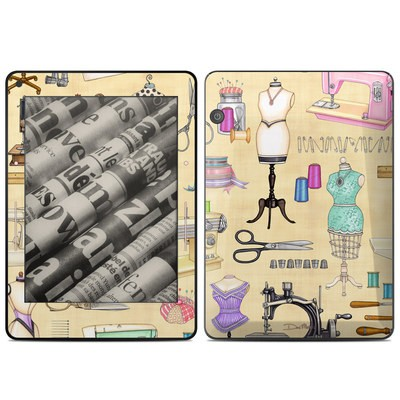 Amazon Kindle Voyage Skin - Haberdashery