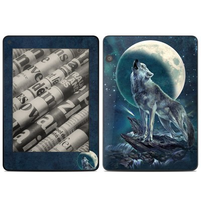 Amazon Kindle Voyage Skin - Howling Moon Soloist