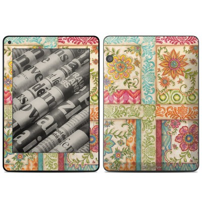 Amazon Kindle Voyage Skin - Ikat Floral