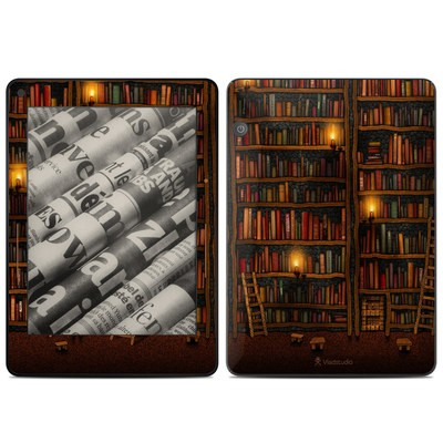 Amazon Kindle Voyage Skin - Library