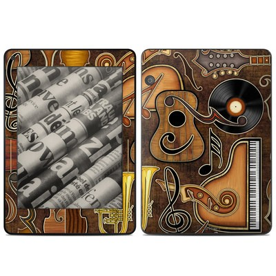Amazon Kindle Voyage Skin - Music Elements