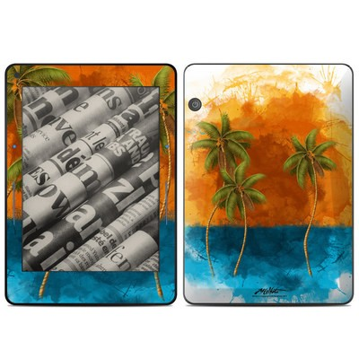 Amazon Kindle Voyage Skin - Palm Trio