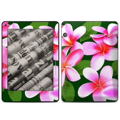 Amazon Kindle Voyage Skin - Pink Plumerias