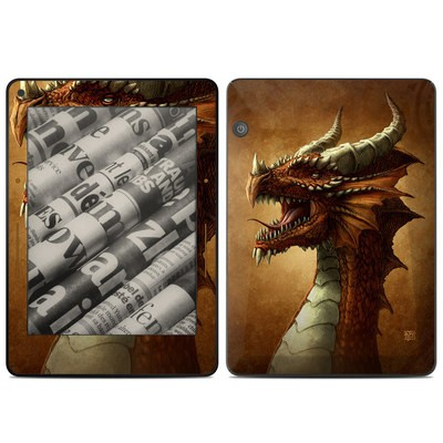 Amazon Kindle Voyage Skin - Red Dragon