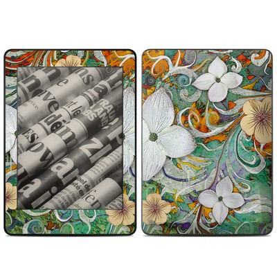 Amazon Kindle Voyage Skin - Sangria Flora