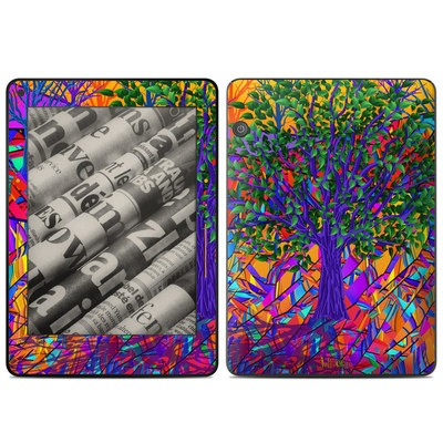 Amazon Kindle Voyage Skin - Stained Glass Tree